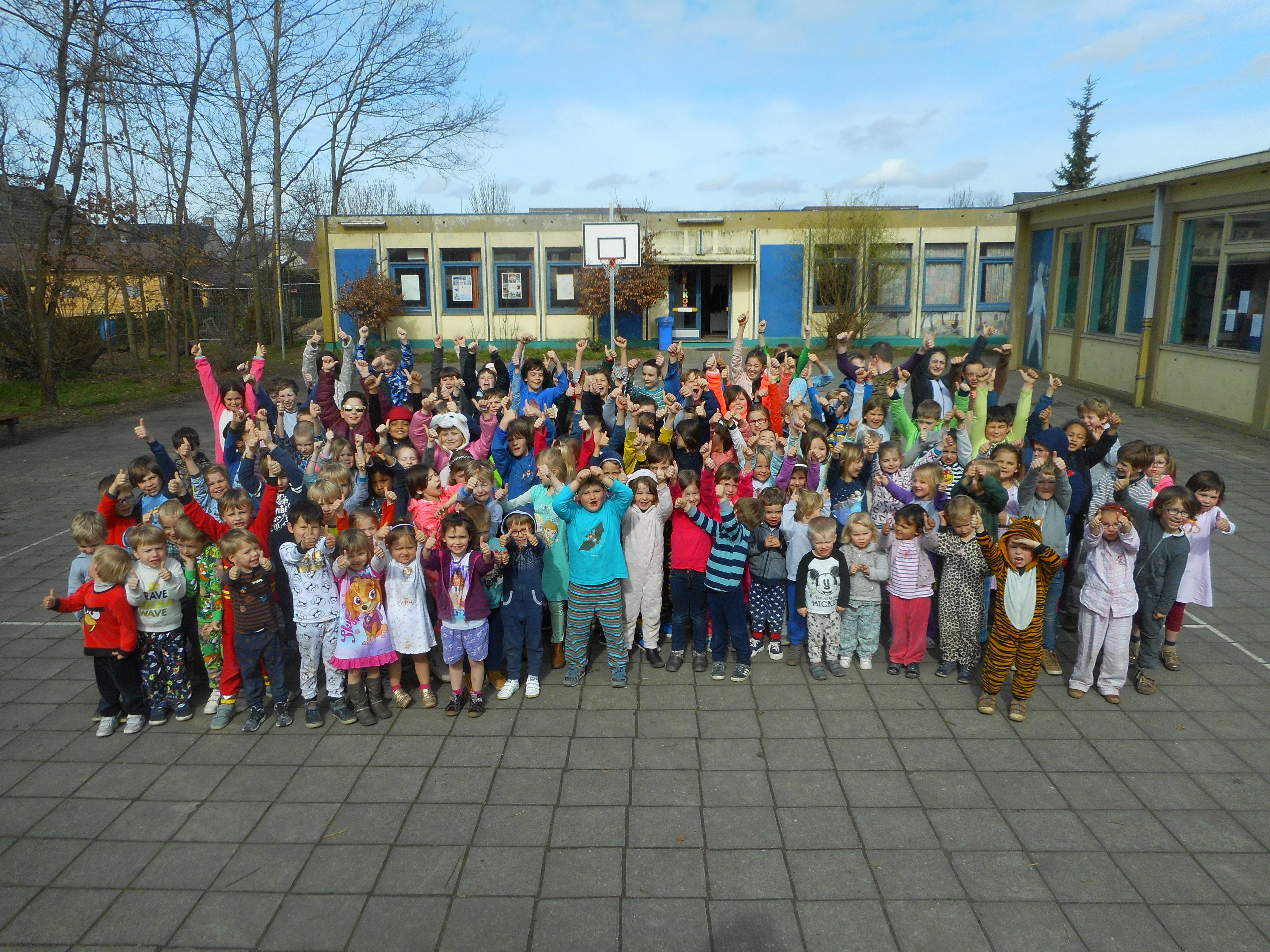 kinderen voor kinderen pyjama dag